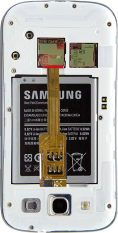 Dual SIM Adapter UMTS 3G for Samsung Galaxy S3 i9300 and Galaxy S4