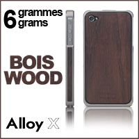 Bumper for Apple iPhone 4 and iPhone 4S Alloy and Wood Patchworks