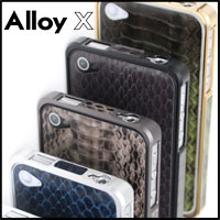 Bumper for iPhone 4/4S, Protective case Patchworks Alloy X Leather