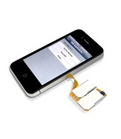 X-Triple - Dual SIM Adapter for iPhone 4 / 4S
